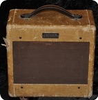 Fender TWEED CHAMP 5C1. Model 1953 Original Tweed