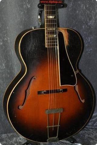 Gibson L 50 Carved Spruce Top.cites Certificate Incl. 1948 Original Sunburst.