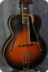 Gibson-L-50 Carved SPRUCE Top.-1948-Original Sunburst.