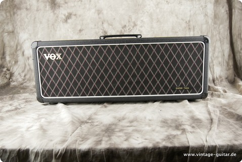 Vox Ac 30 Super Twin Top 1964 Black Tolex