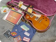 Gibson Les Paul Standard Custom Shop Gary Rossington 2002 Sunburst