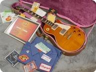 Gibson-Les Paul Standard Custom Shop Gary Rossington-2002-Sunburst