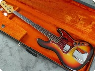 Fender-Jazz Bass-1966-Sunburst