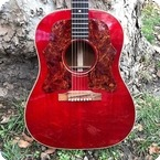 Gibson J45 1968 Cherry Red