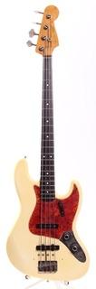 Fender Jazz Bass '62 Reissue Jb62 115 Spitfire Guard 1982 Vintage White