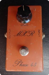 Mxr Phase 45 Script Logo 1974 Orange