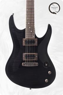 Valenti Guitars Nebula Carved Ex Demo Price 2019 Trans Black