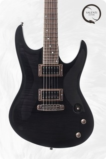 Valenti Guitars Nebula Carved Ex Demo Price 2019 Trans Black