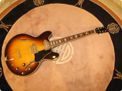 Gibson Es330td Near Mint 1968 Tobacco Sb Dark!!