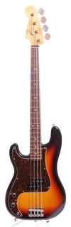Fender Precision Bass '62 Reissue Lefty 2015 Sunburst