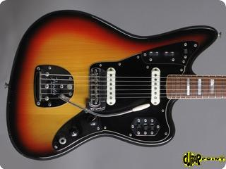 Fender Jaguar 1974 3 Tone Sunburst