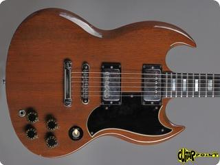 Gibson Sg Standard 1974 Walnut Brown