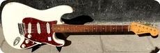 Fender-Straotcaster / Refin-1959-Olympic White