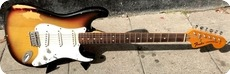 Fender Stratocaster Hardtail 1974 Sunburst
