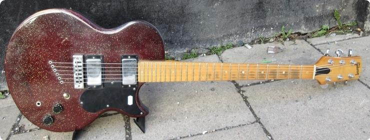 Gibson L6s Purple Sparkle