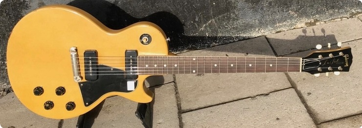 Gibson Les Paul Special / Refin 1957 Tv Yellow