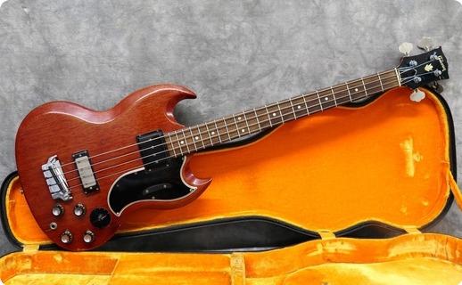 Gibson Eb3 1961 Cherry
