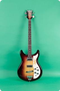 Kustom Bass Guitar 1969 Sunburst