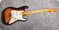 Fender-Stratocaster '57 Vintage Reissue-1982-Two Tone Sunburst