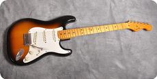 Fender Stratocaster 57 Vintage Reissue 1982 Two Tone Sunburst