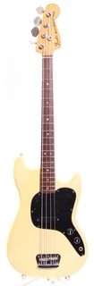 Fender Musicmaster Bass 1978 Olympic White