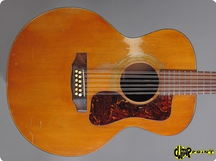 Guild F 112 12 String 1972 Natural Spruce /mahogany