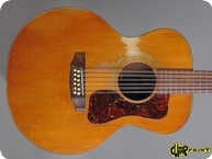 Guild F 112 12 String 1972 Natural Spruce Mahogany