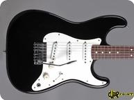 Fender USA DAN SMITH Stratocaster 1983 Black Ebony