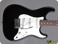 Fender USA DAN SMITH Stratocaster 1983 Black Ebony