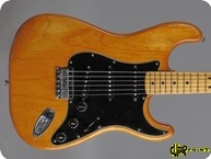 Fender-Stratocaster Hardtail-1979-Natural Ash