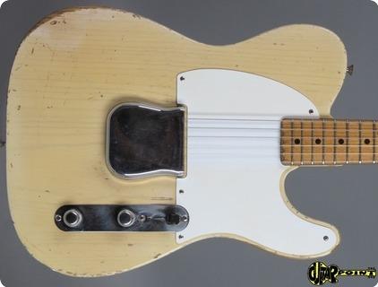 Fender Esquire (telecaster) 1956 Blonde Ash Transparent White