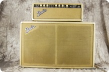 Fender Bassman Top U. Cabinet 1964 Smooth White Tolex