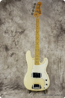 Fender Precision Bass 1974 Olympic White