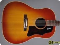Gibson J 45 1968 Cherry Sunburst