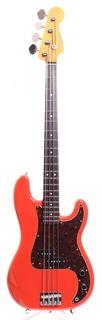 Fender Precision Bass '62 Reissue 2015 Fiesta Red