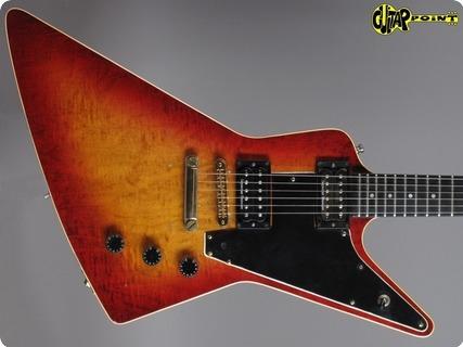 Gibson Explorer E/2 1981 Cherry Sunburst