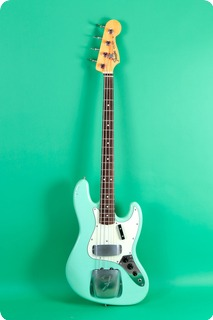 Fender Jazz Bass Vintage 1962 Re Issue 1990 Sea Foam Green