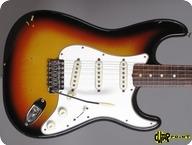Fender Stratocaster 1965 3 tone Sunburst
