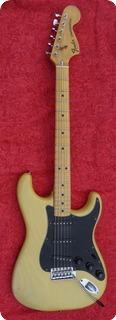 Fender Stratocaster 1977 Blond See Through Ash Body