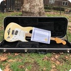 Fender-Stratocaster Ex Billie Joe Armstrong Green Day-1970-Olympic White