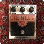 Electro Harmonix Big Muff 1979 Silver
