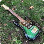 Baldwin Burns Double Six 1965 Green Burst