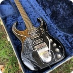 Burns Guitars Bison 1963 Black