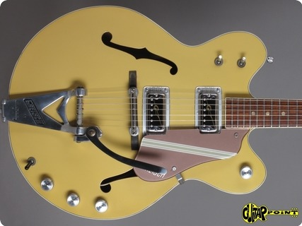 Gretsch 6105 Rally 1967 Bamboo Yellow/copper Mist