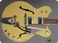 Gretsch 6105 Rally 1967 Bamboo YellowCopper Mist