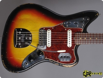 Fender Jaguar 1963 3 Tone Sunburst