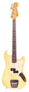 Fender Mustang Bass Precision Pickups 1978 Olympic White