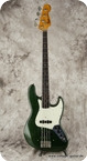 Fender Jazz Bass 1962 Sherwood Green Refinished