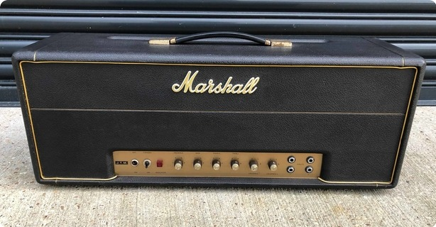 Marshall Jtm 100 1967 Black