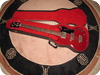 Gibson EB 0 1965 Cherry Red unfaded